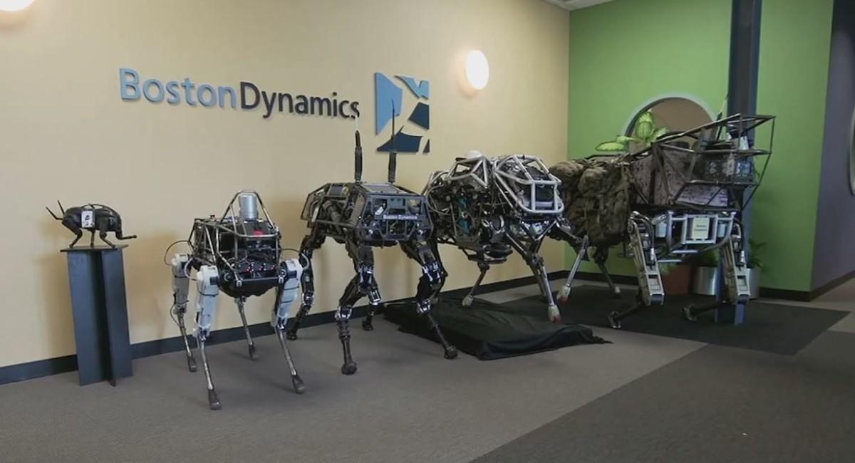 Знаменитая фирма по производству роботов Boston Dynamics была приобретена японской компанией Softbank